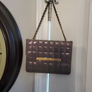 Chanel small bag purple 💜 iridescent excellent